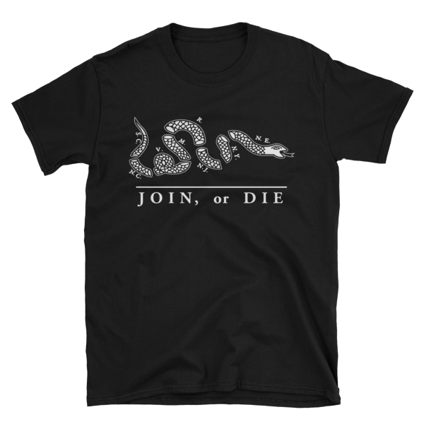 Join or Die Snake T-Shirt